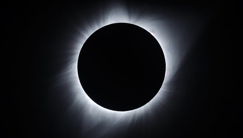 Total Solar Eclipse 2017 - Corona Detail