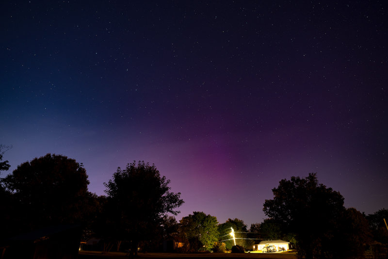 Aurora Visible from Missouri