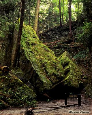 Wedge Rock- Turkey Run State Park