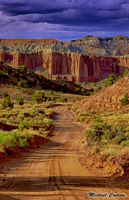 Upper Cathedral Valley-Capital Reef National Park