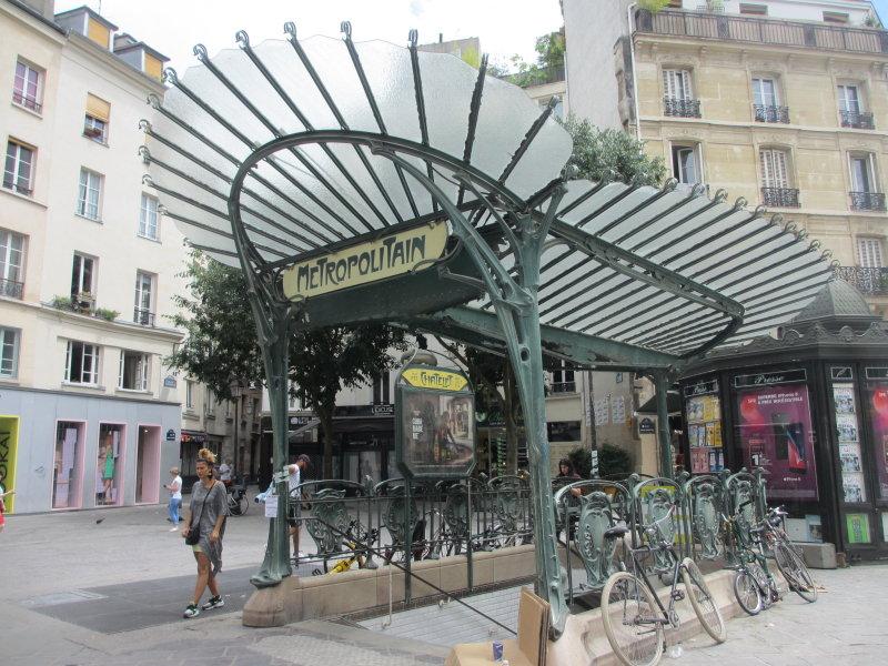 Métrostation Chatelet