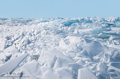 Ice sheets on Superior