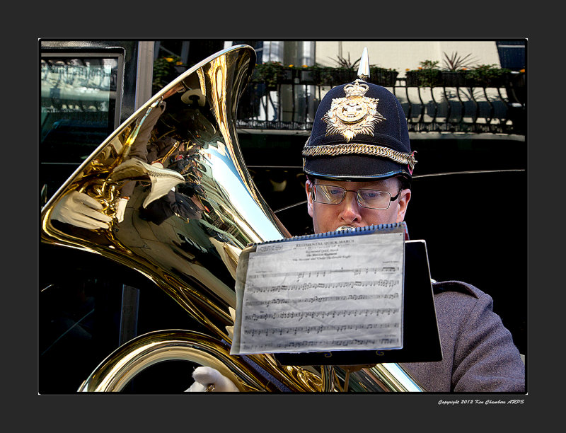 Bandsman.  The Band of Prince Of Waless Division