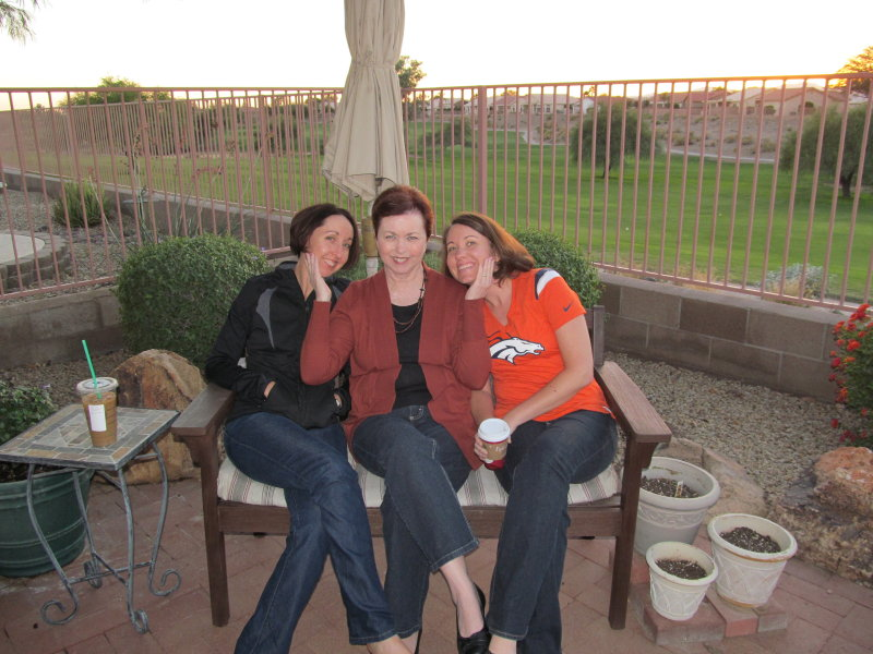 My wife and daughters