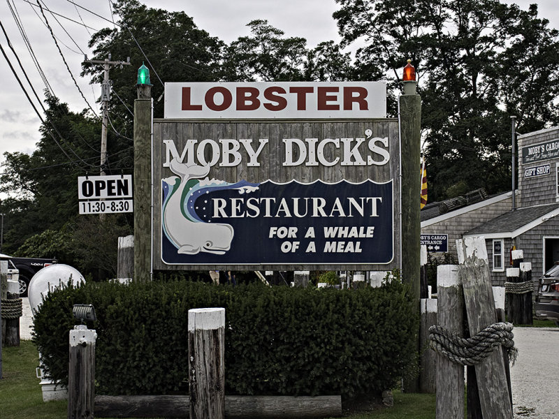 Moby Dicks - For A Whale Of A Meal.