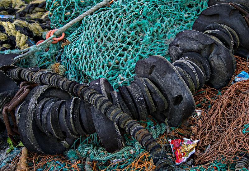 Fishing net and stuff