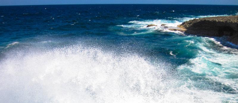 North Coast of Curacao.....