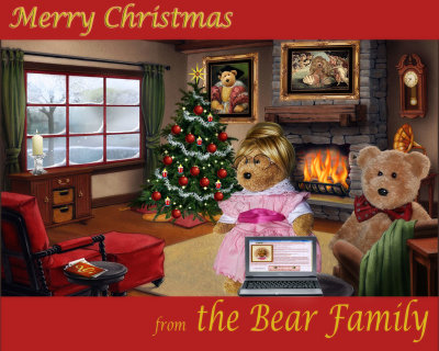 Merry Christmas from the Bear family!