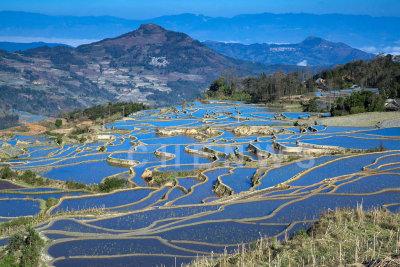 Terraced rice fields, AiChun village