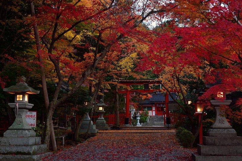 Oharano Shrine at Kyoto