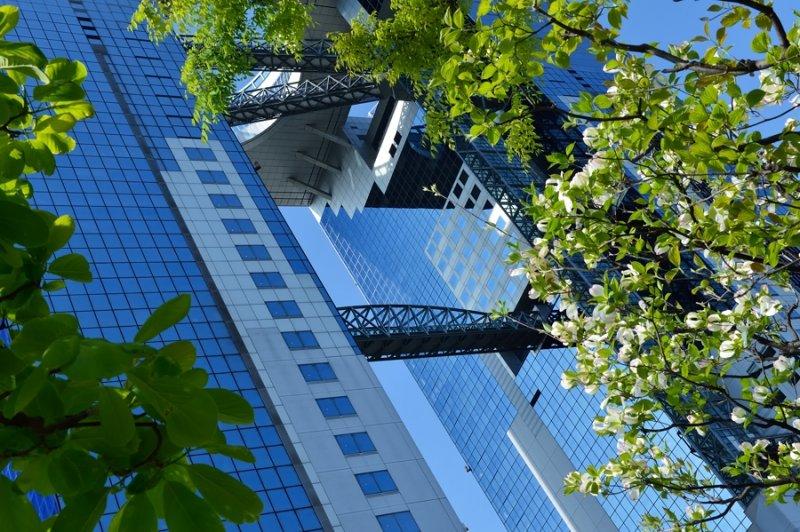 Umeda Sky Building at Osaka