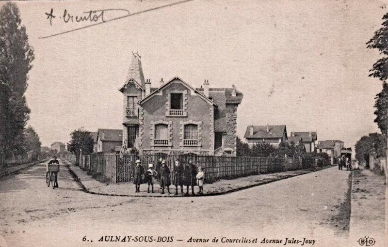 Angle rue de Courcelles et Jules Jouy
