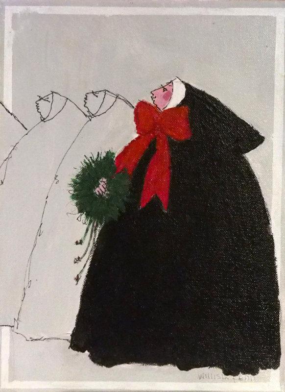 Christmas Nun