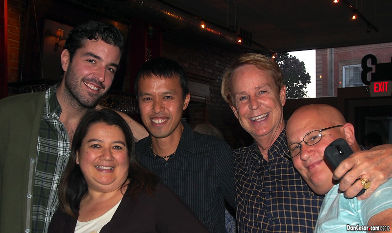 Jarret, Amy, Cesar, Bruce, Don