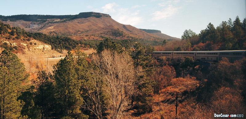 On Amtrak Outside of Raton, New Mexico