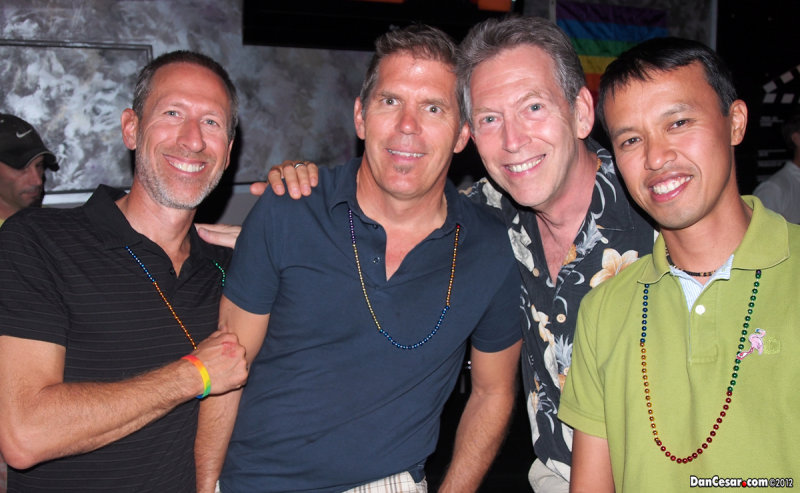 Brian, Joe, Jon, Cesar