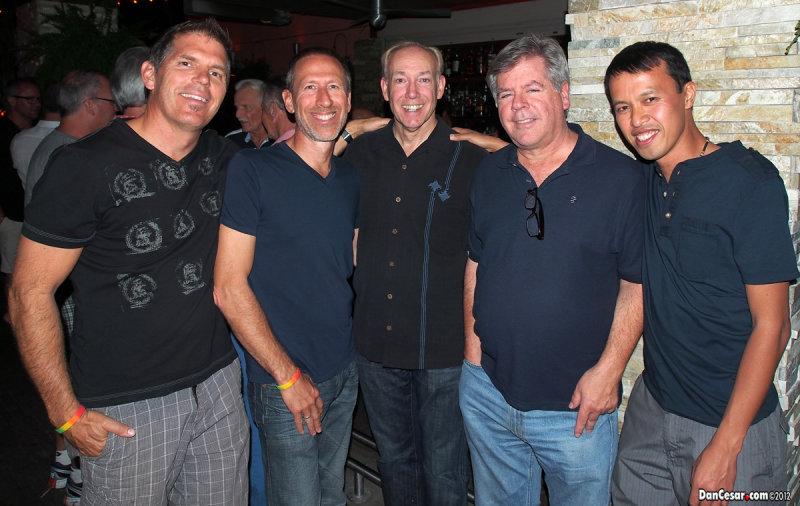 Joe, Brian, Dean, George, and Cesar