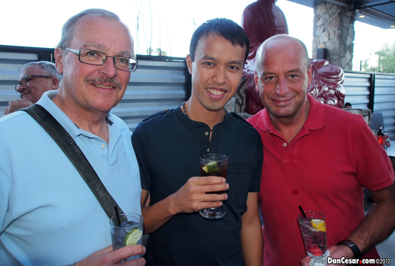 Dan, Cesar, and Mike