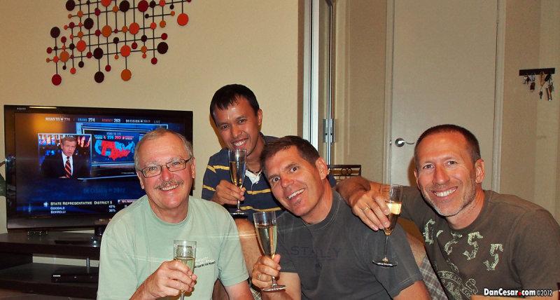 Dan, Cesar, Joe, and Brian