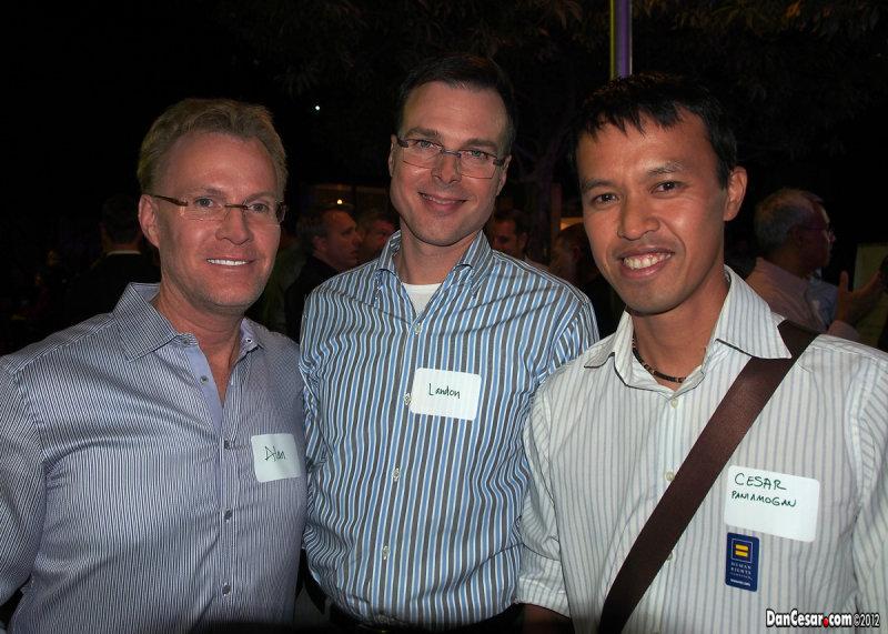 Alan, Landon, and Cesar