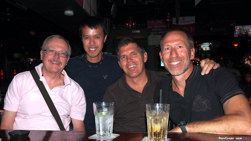 Dan, Cesar, Joe, Brian