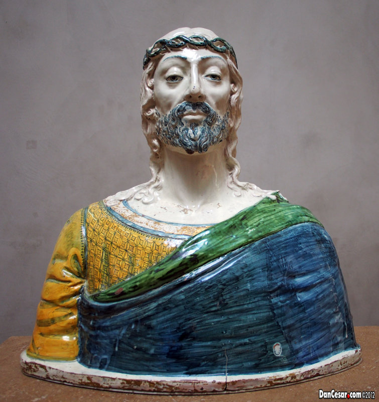 Bust of Christ, Italian (Montelupo), about 1500
