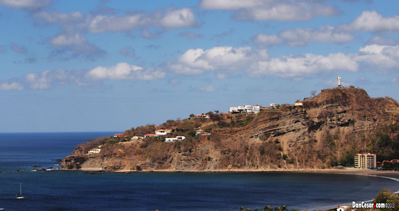 Bay of San Juan del Sur from Surrounding Hills