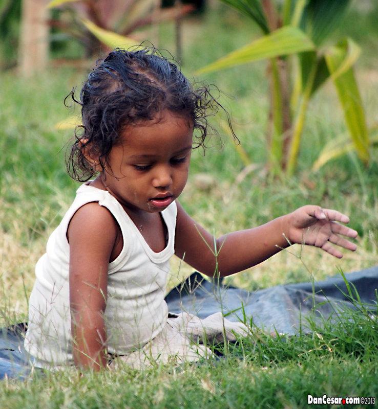 Child in the Campo