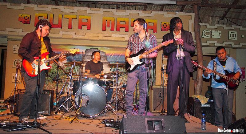 Mario Sacasa at Ruta Maya.