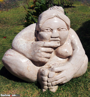 Gordita Woman Statue