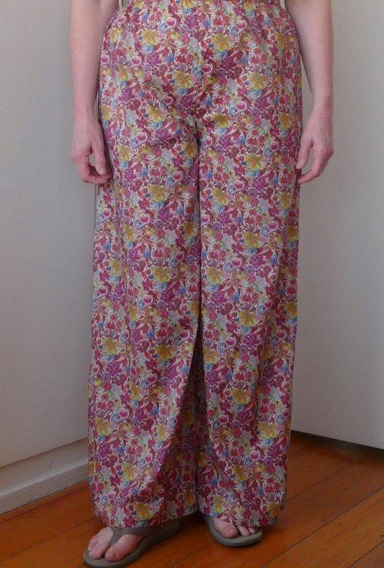 Pants in Libertys Judy Rose
