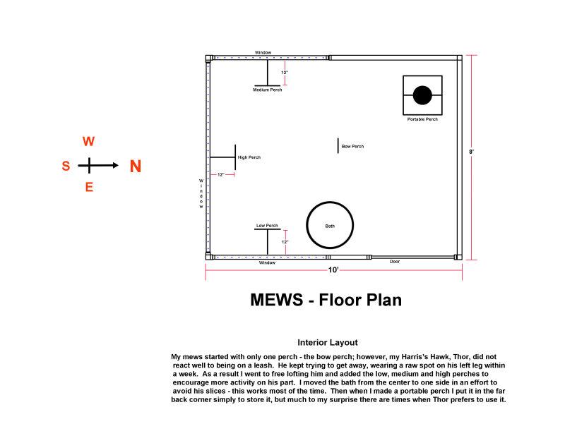 Mews - Interior Layout