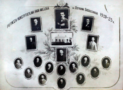 1920-1925 Ostrow First Constitution Writers