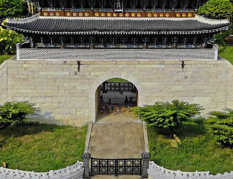 Damdaemun Gate, Seoul, Korea