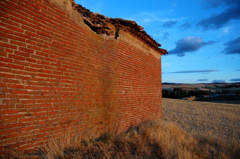 Bricked wall