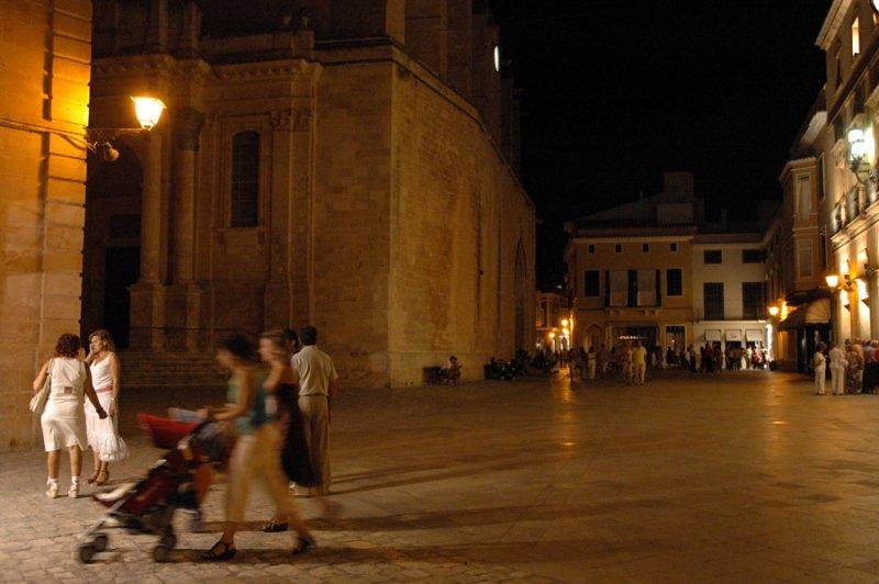 Cathedral square - Ciutadella