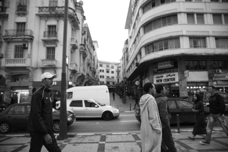 Main Street - Tanger, Morocco