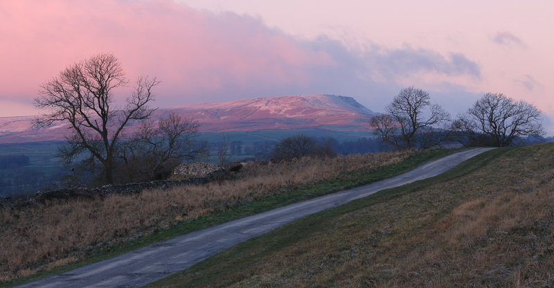20121205 - First Light on Penhill