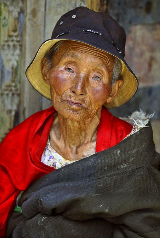elder    Lhasa, Tibet
