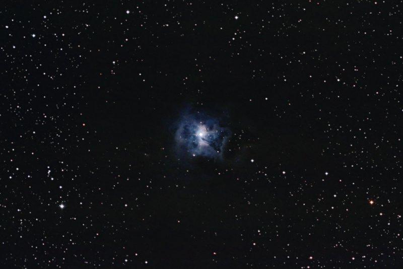 Iris Nebula ( NGC7023) in Cepheus