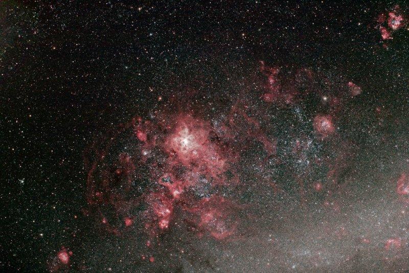 Emission nebulae in the Large Magellanic Cloud