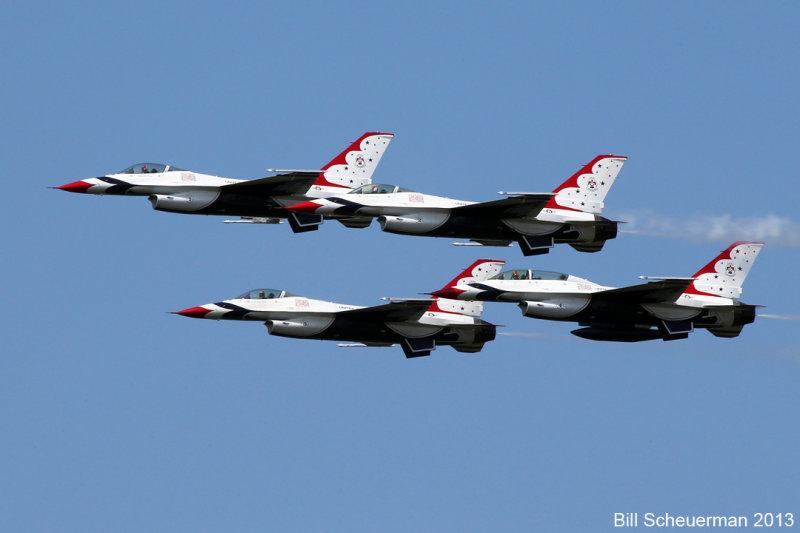 Thunderbirds over TICO 2013