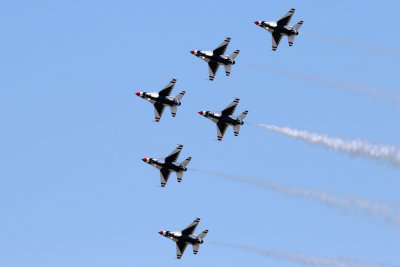 Thunderbirds over TICO 2013