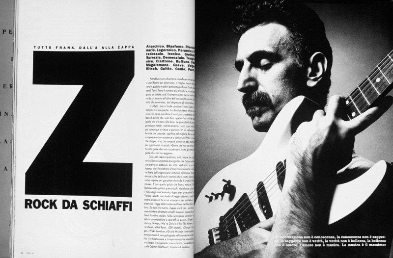 Zappa in Per Lui I