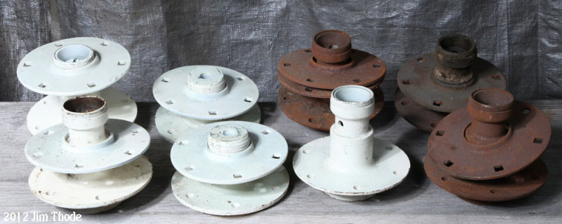 Wheel Hubs $40 painted $25 Not Painted