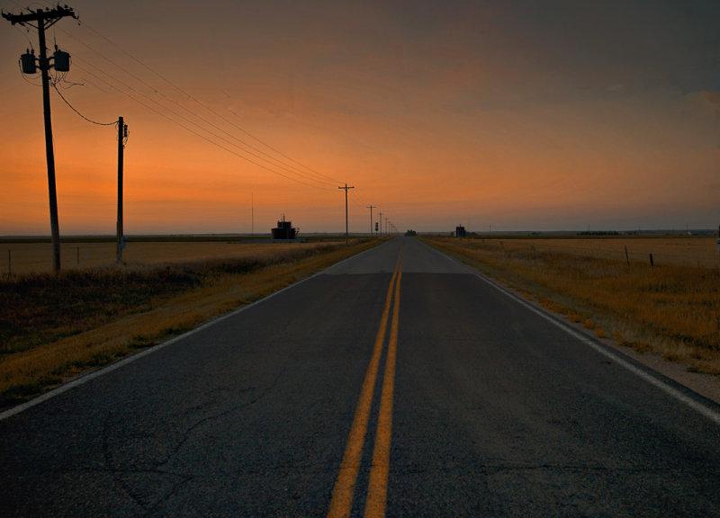 Sunset, Hays,Kansas