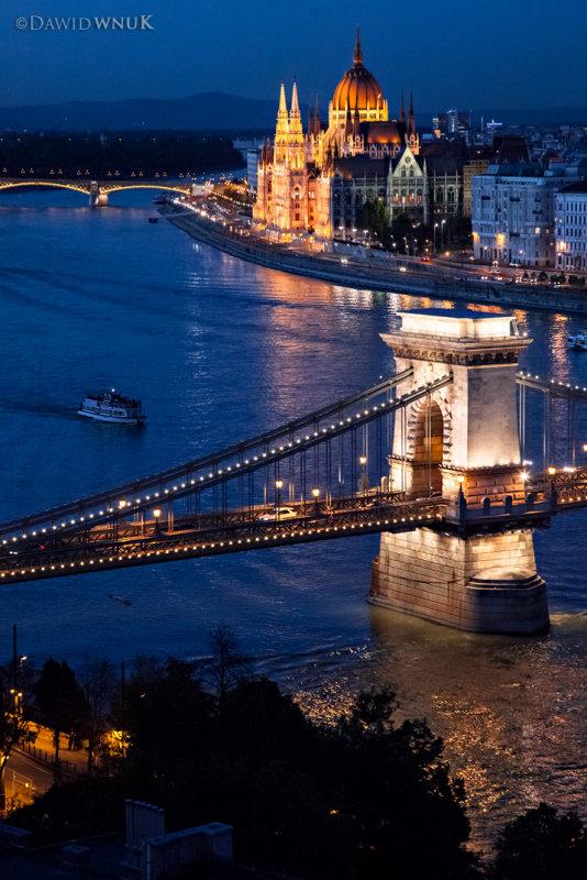 Budapest On Blue