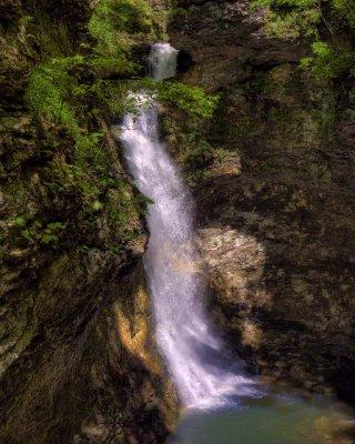 Eden Falls at Lost Valley,  Buffalo National River