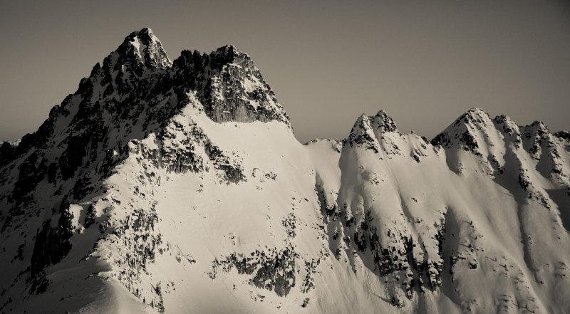 Azurite Peak, South Face <br> (Azurite_010313_014-2.jpg)