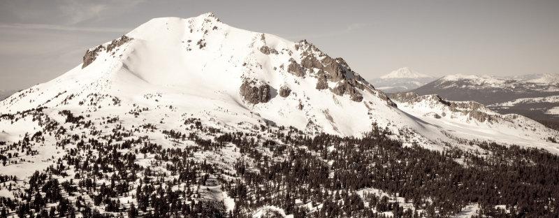 Lassen Peak From The Southeast <br> (Lassen_011913_070-8.jpg)